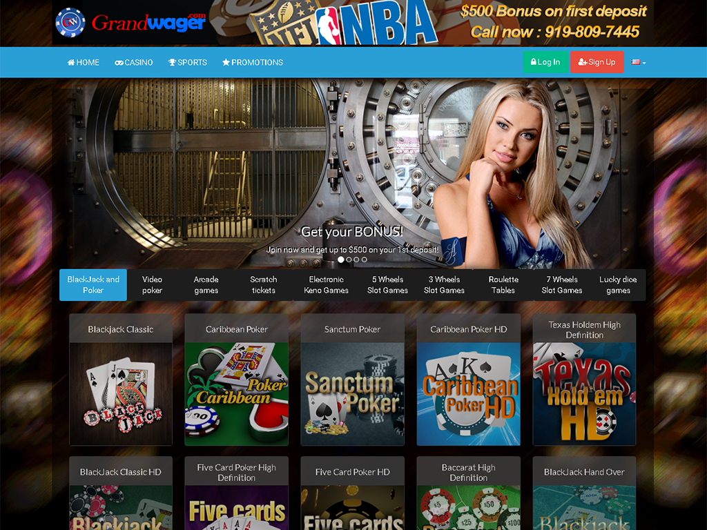 A full suite of white label casino games
